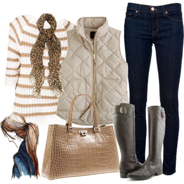 OOTD...Neutrals, created by luv2shopmom on Polyvore