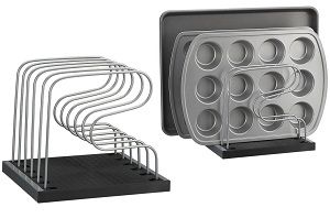 copco adjustable bakeware organizer