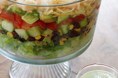 Mexican Shrimp Cobb Salad | Soups And Salads | Pinterest