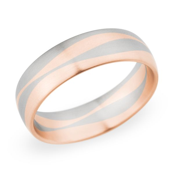 Pin By Christian Bauer USA On Two Tone Wedding Bands Pinterest