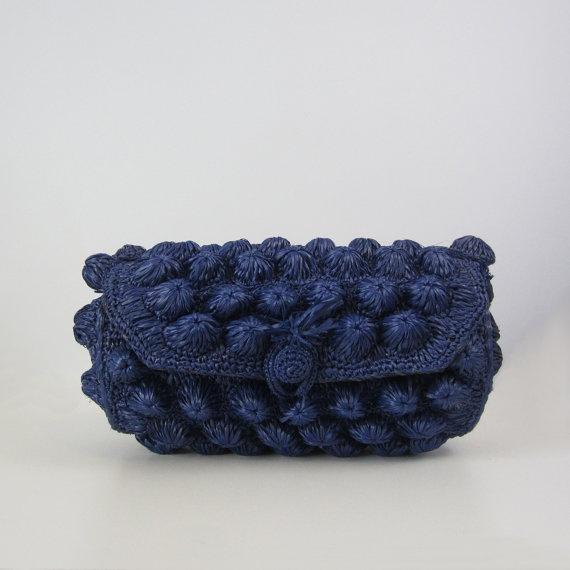 vintage 60s straw barrel bag  woven handbag  by archetypevintage,  ...