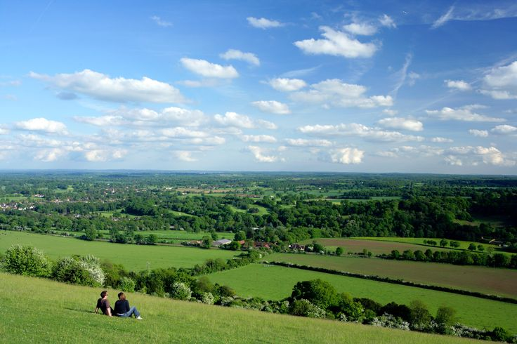 View From Box Hill Dorking Surrey Great Britain Pinterest