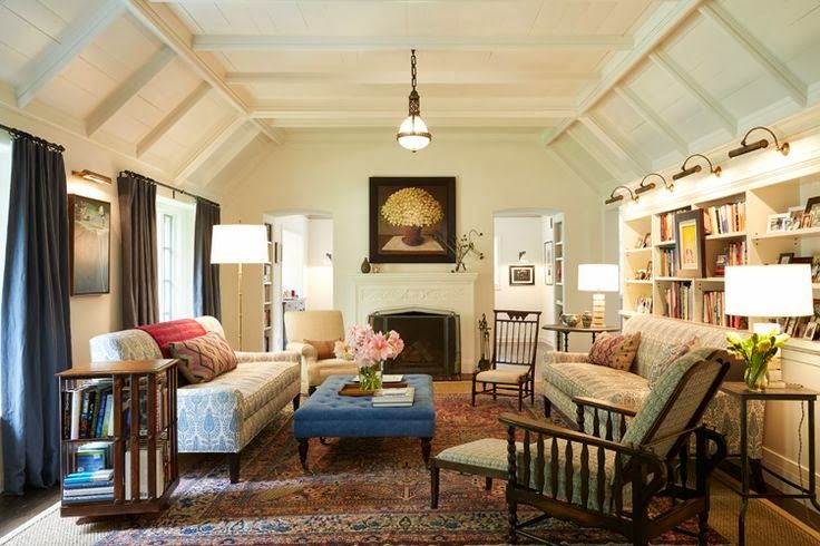 Cozy Chic Living Room Inspiring Interiors Pinterest