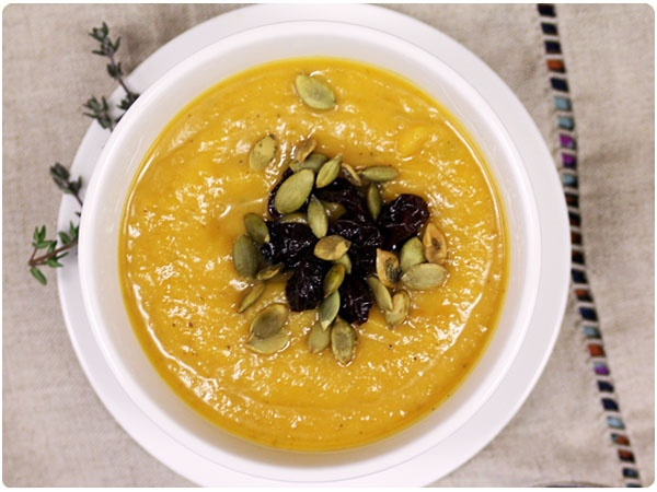 Butternut Squash, Sweet Potato & Fennel Soup