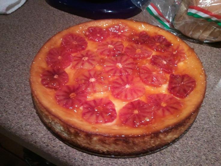 Blood Orange Cheesecake Recipe — Dishmaps