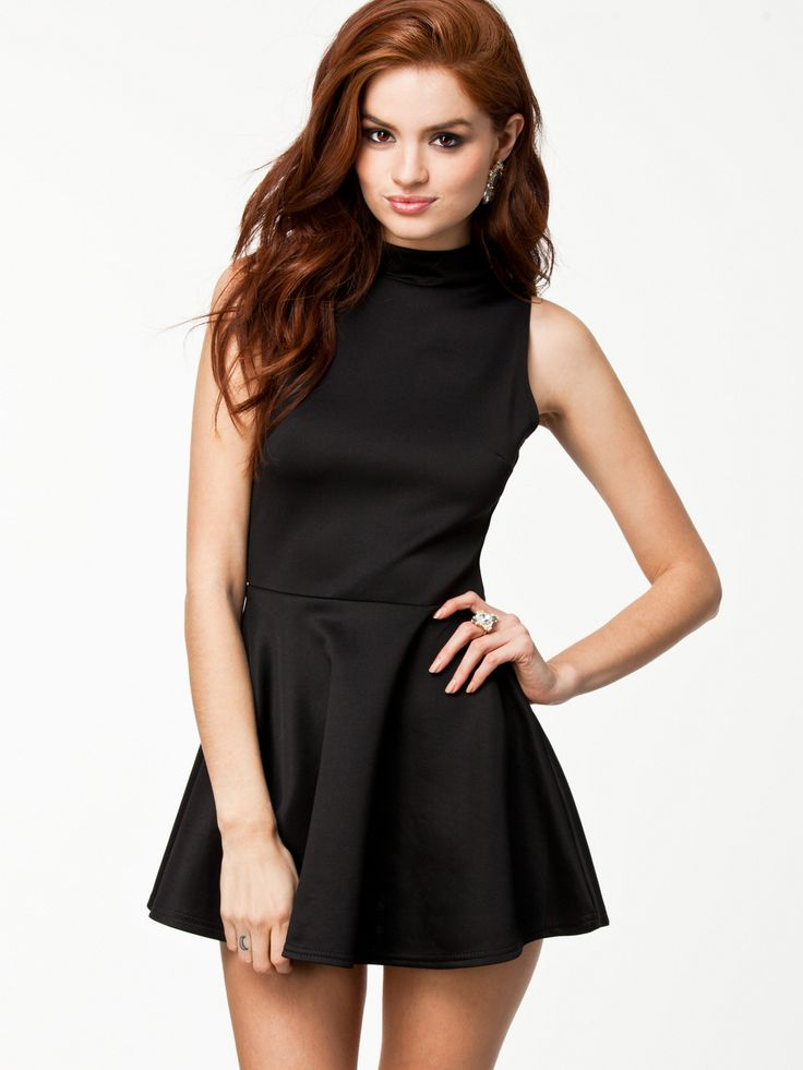 nelly festklänningar svart