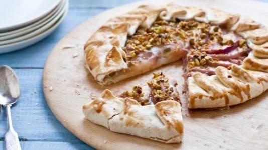 Honey And Nectarine Galette Recipes — Dishmaps