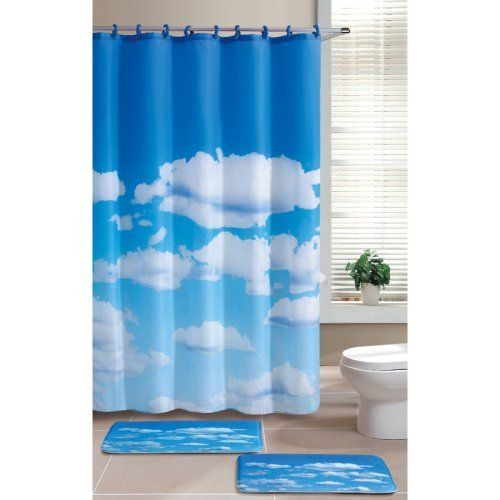 Victoria Classics Cloudy Day Shower Curtain: Bath : Walmart.com