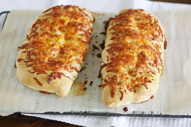 stuffed cheesy bread by girlversusdough, via Flickr