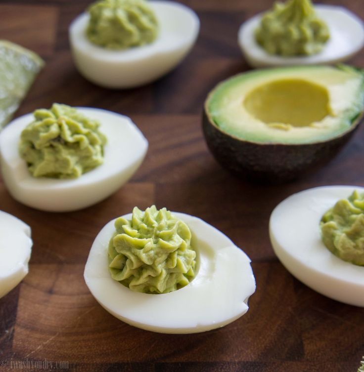 Guacamole Deviled Eggs | Recipe