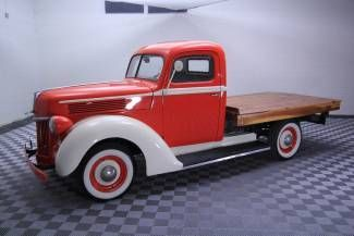 1942 Ford Flatbed truck. #classicford