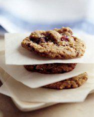 Dark Chocolate Cookies with Sour Cherries | Recipe