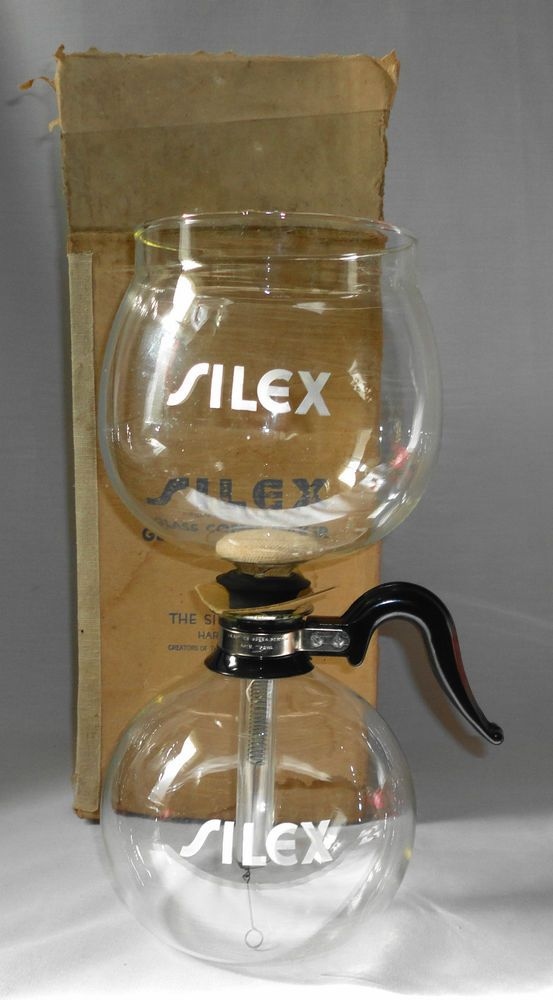 Pyrex Coffee Maker How To Use : Vintage 1930s Silex 5 Pyrex Glass Vacuum Seal Coffee Pot Maker New In?