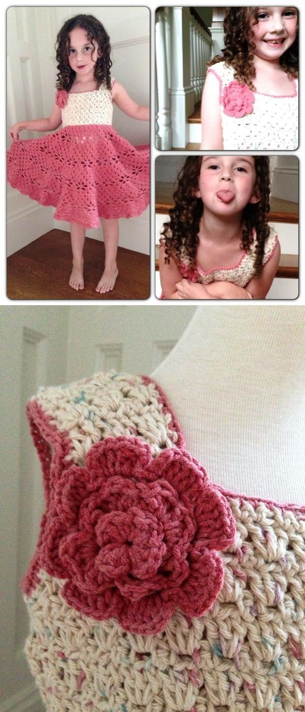 Crochet Patterns Little Girl Dresses : Beautiful Vintage Crochet Patterns :D My grammy was master of ...