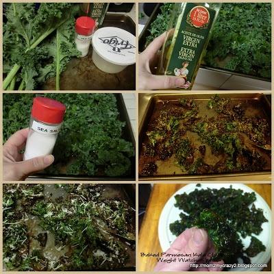 ... help you pack.: Crunchy Snack ... Baked Parmesan Kale Chips (WW 1pt