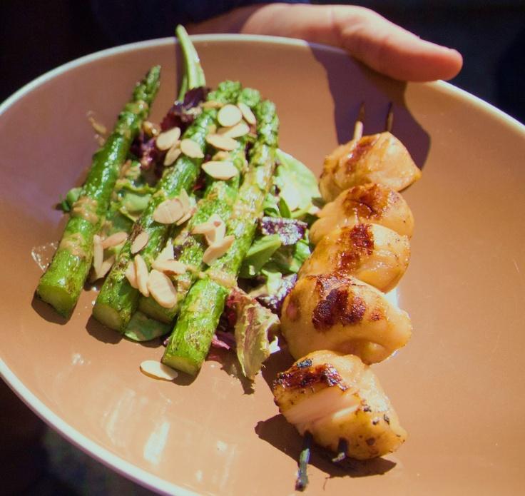Miso Ginger Asparagus Recipe — Dishmaps