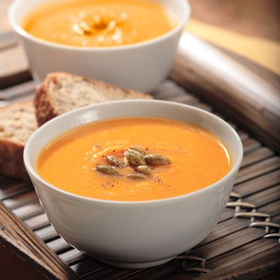 Winter Roasted Vegetable Soup | Recipes | Pinterest