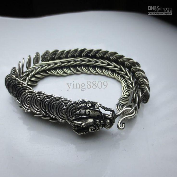 Bracelet Wholesale Tibet Tribal Miao Silver Men S Jewelry