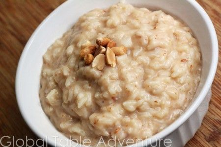 Sweet Peanut Butter Rice (Bouiller) - Central African Republic