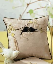 Love Bird Ring Pillow