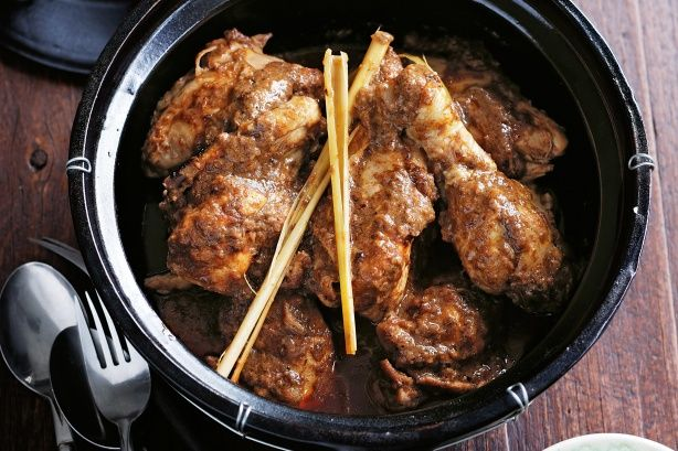 Chicken rendang | FOOD | Glorious food. | Pinterest