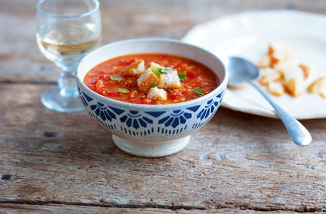 Chunky Tomato Soup...tried this one. Delicious!