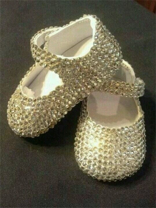 Gold Bling Shoes