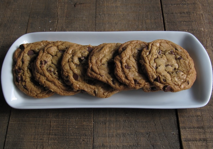 The Perfect Chocolate Chip Cookies via @apinchofpork