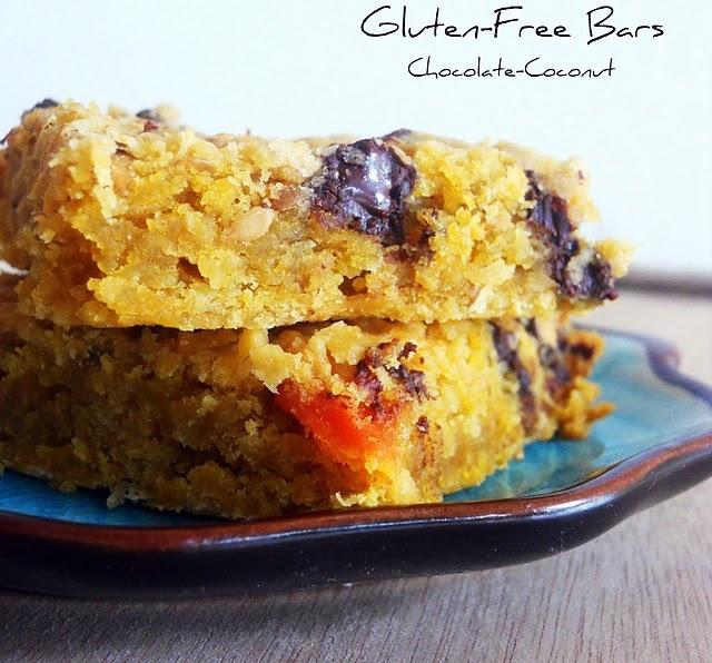 gluten free coconut bars | good for gluten free | Pinterest