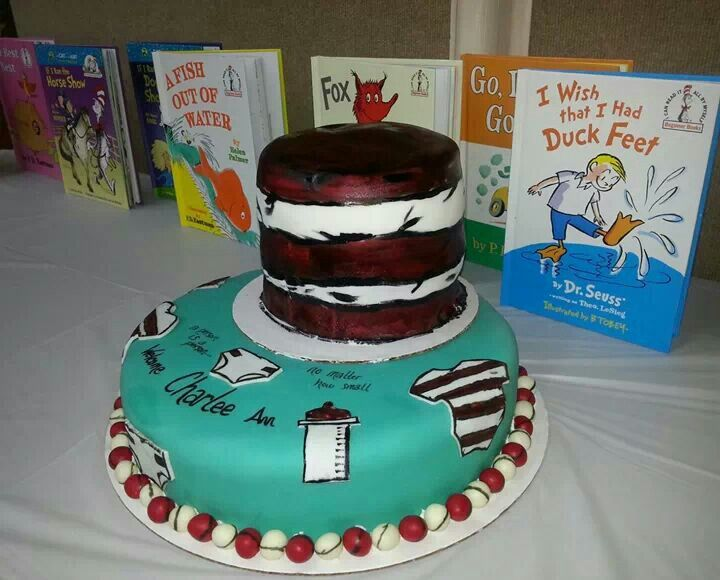 dr seuss baby shower cake my cakes and desserts pinterest