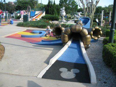Fantasia Gardens And Fairways Miniature Golf Next Disney