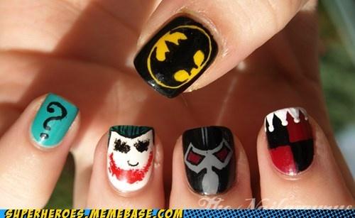 Batman villain nails...win!
