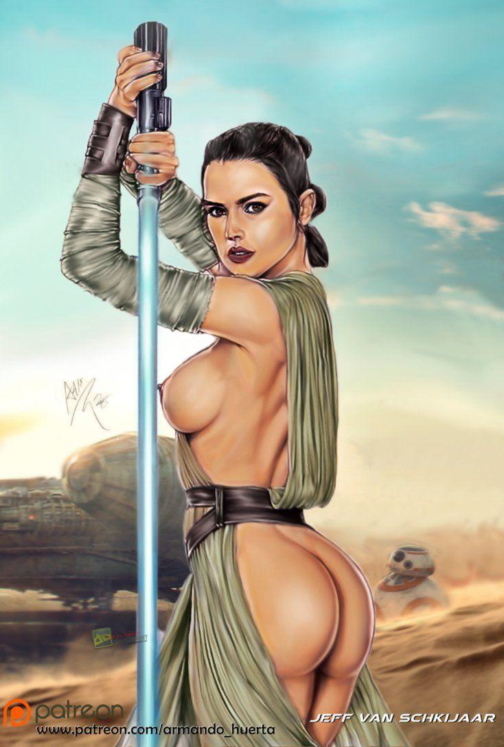 Rey porno wars star nackt Star Wars