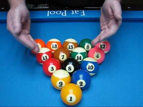 mathematical 8ball rack things to