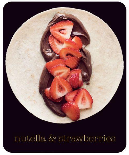 Nutella & Strawberries