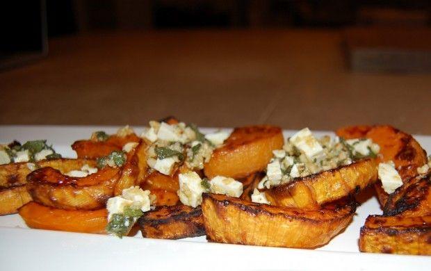 Caramelized Butternut Squash with Sage Hazelnut Pesto, Plus a Bonus ...