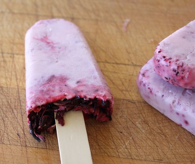 ... hibiscus ice pops hibiscus raspberry ice pops are refreshing and offer