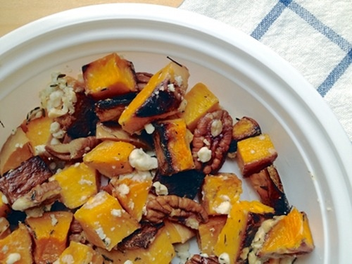 "Butternut Squash with Blue Cheese and Pecans | ""Eating for England"""