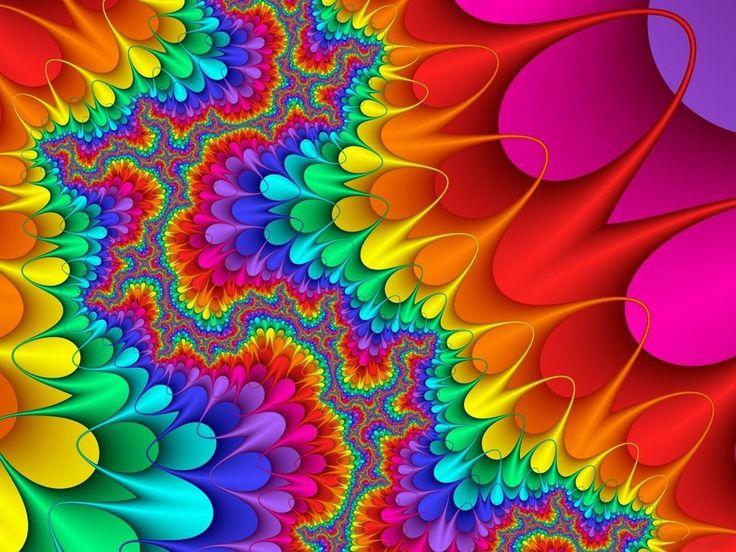Splat of color