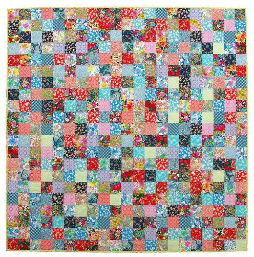 Liberty Bloomsbury Gardens quilt