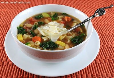 Roasted Vegetable Minestrone | Soup----Stew----Stoups | Pinterest