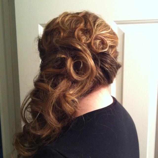 Wedding hair trial one | Wedding | Pinterest
