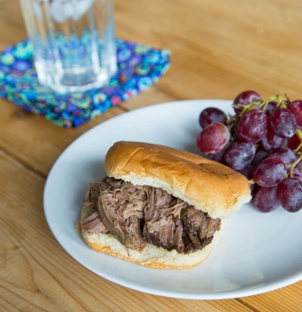Slow Cooker Italian Beef Sandwiches | Food And Drink | Pinterest