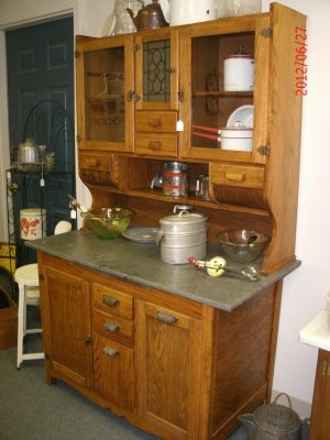 Wilson antique kitchen cabinet kitchens pinterest for Antique kitchen cabinets