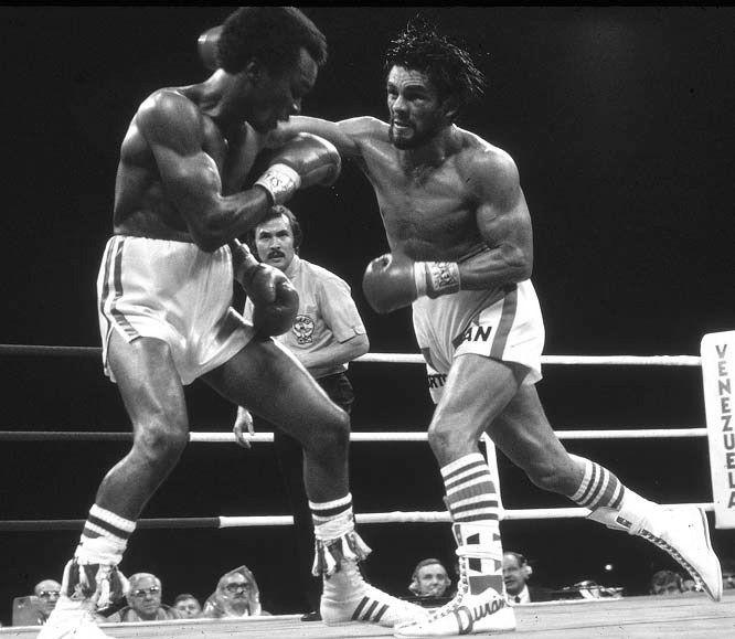 """Sugar Ray Leonard vs. Roberto """"Mano de Piedra"""" Durán (1980)"""