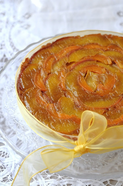 Tarte Tatin with apricot and peach | Cakes, Pies, Tarts | Pinterest