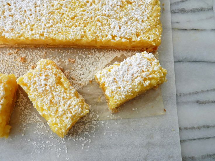 pastry studio: Whole Lemon Bars | food - sweets | Pinterest