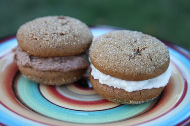 Molasses Cream Pie Cookies | Recipes - cookies & bars | Pinterest