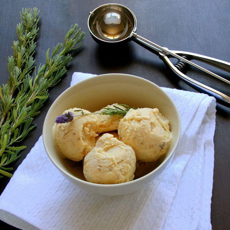 cupcakes amp couscous honey roasted nectarine amp lavender ice cream ...