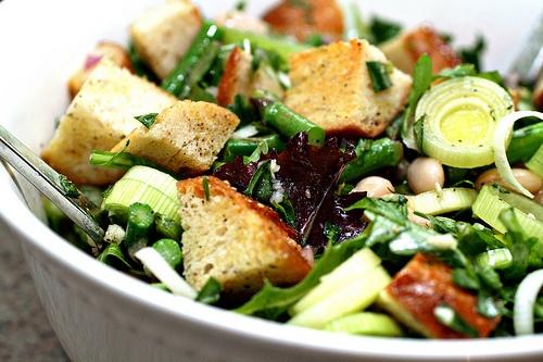 spring panzanella | Food Stuffs | Pinterest